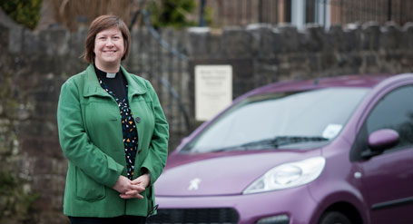 The Reverend Amanda Briggs returned to leasing after buying new